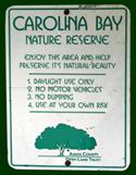 Carolina Bay Sign