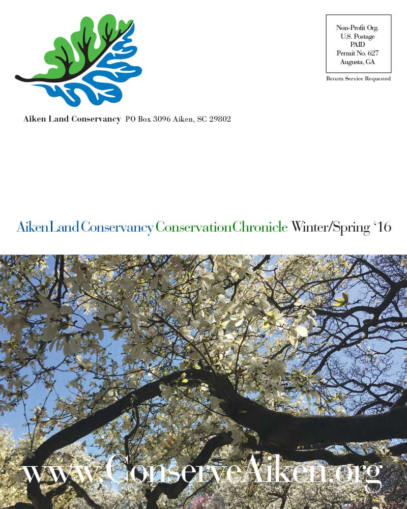 Winter/Spring 2016 Newsletter - Click to Download a PDF